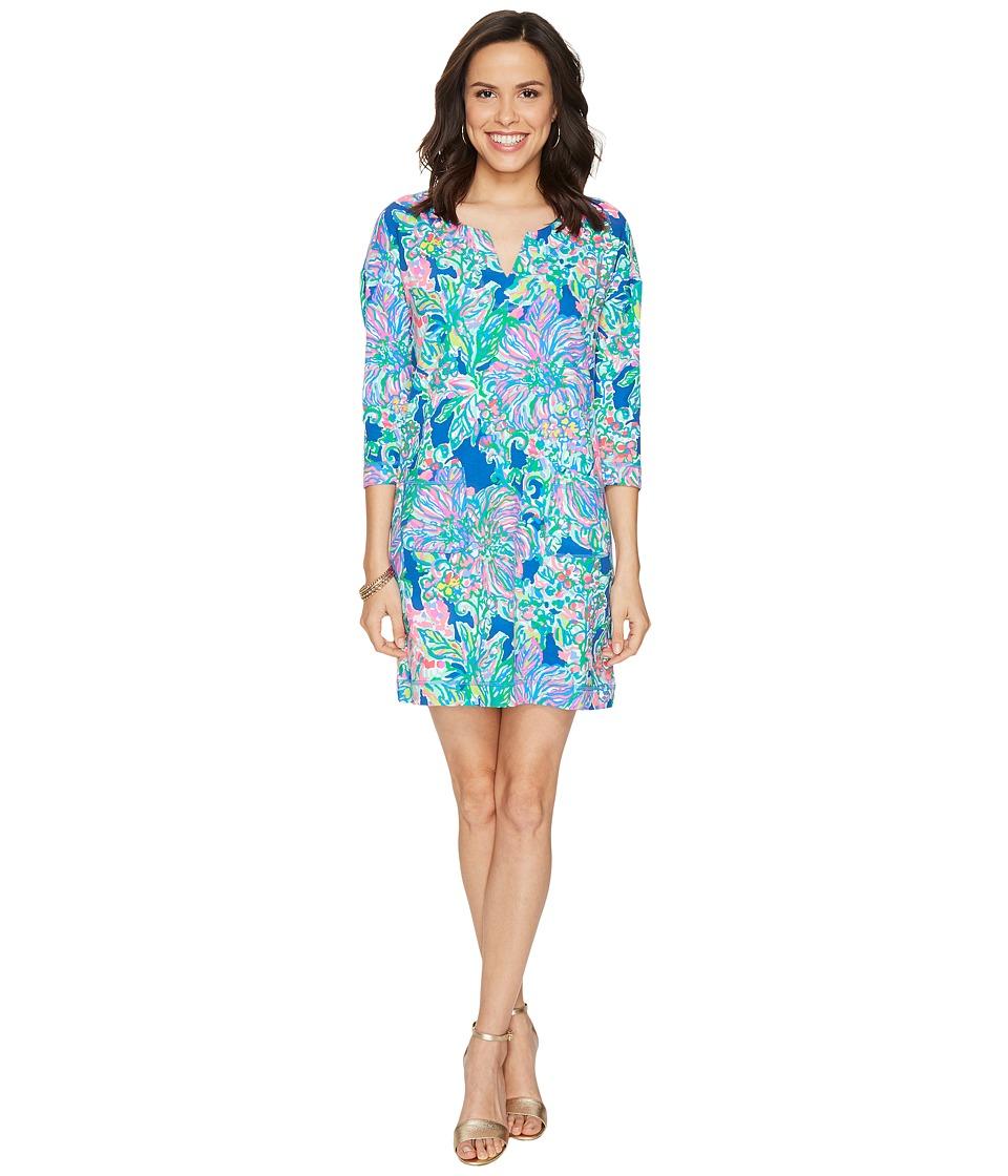 Lilly Pulitzer UPF 50+ Joyce Dress (Indigo Exotic Escapad...