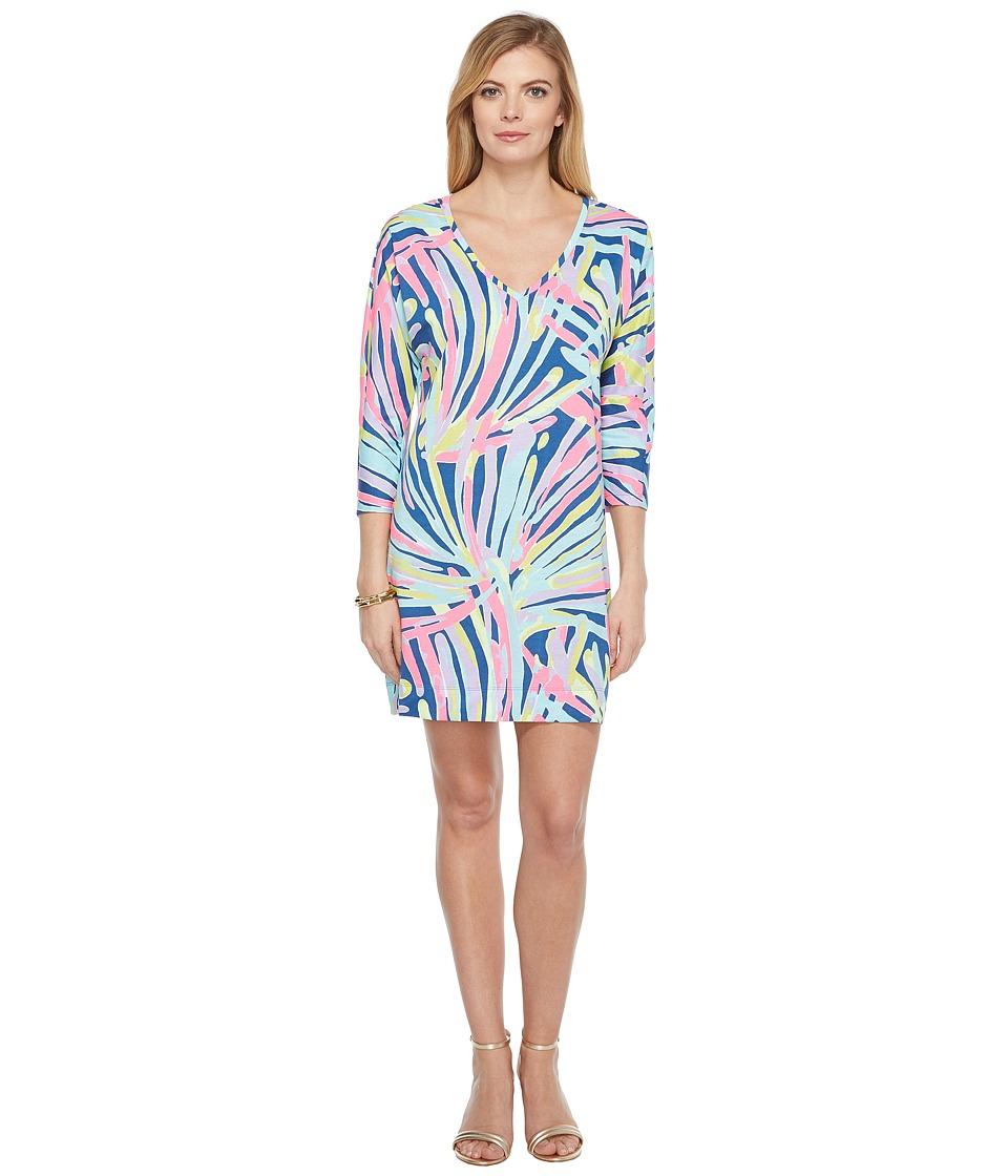 Lilly Pulitzer Cori Dress (Indigo Sea Dreamin) Women