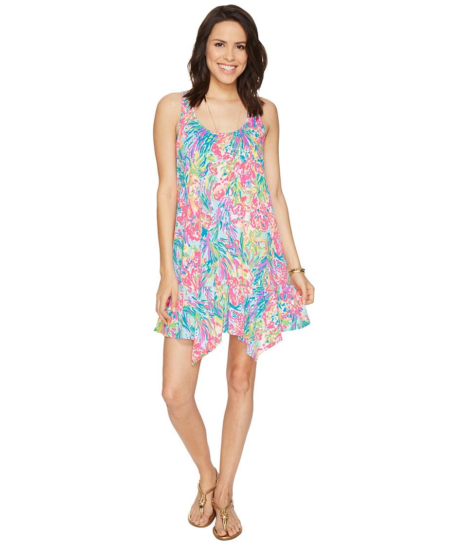 Lilly Pulitzer Hampton Dress (Multi Fan Sea Pants Reduced) Women