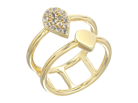 Elizabeth and James Caleta Ring - Yellow Gold