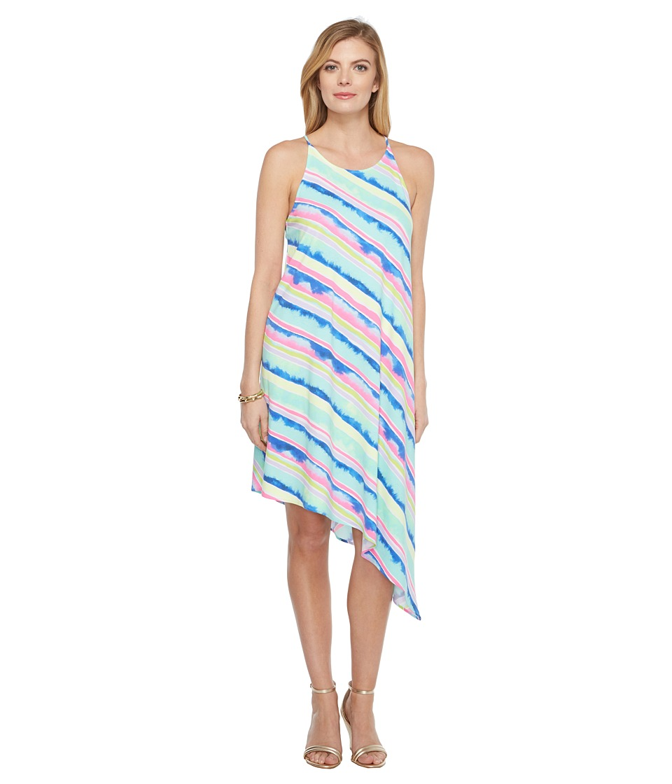 Lilly Pulitzer Magnolia Midi Dress (Multi Ceviche Stripe Diagonal) Women