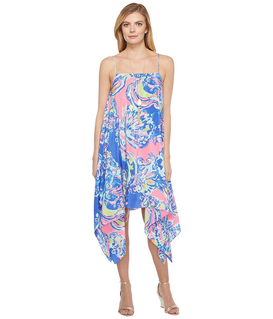 Lilly Pulitzer Kimi Silk Dress (Multi Coastal Retreat) Women