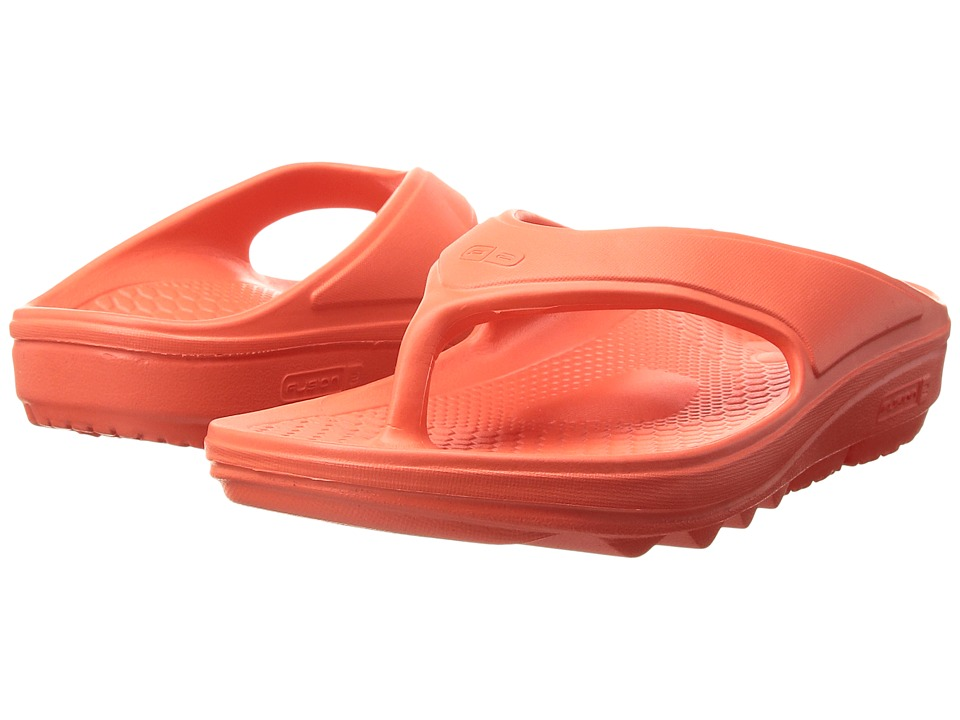 Spenco - Fusion II (Hot Coral 1) Women's Sandals