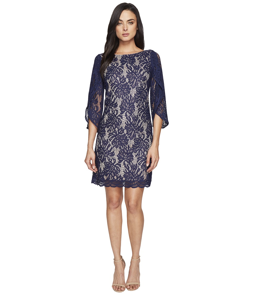 Lilly Pulitzer Bellmont Dress (True Navy Paradise Found Lace) Women