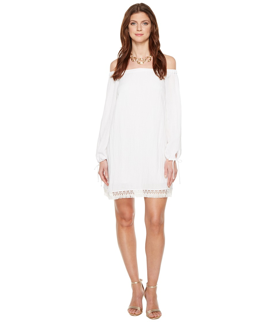 Lilly Pulitzer Adira Dress (Resort White) Women's Dress