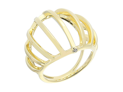 Elizabeth and James Solin Ring - Yellow Gold