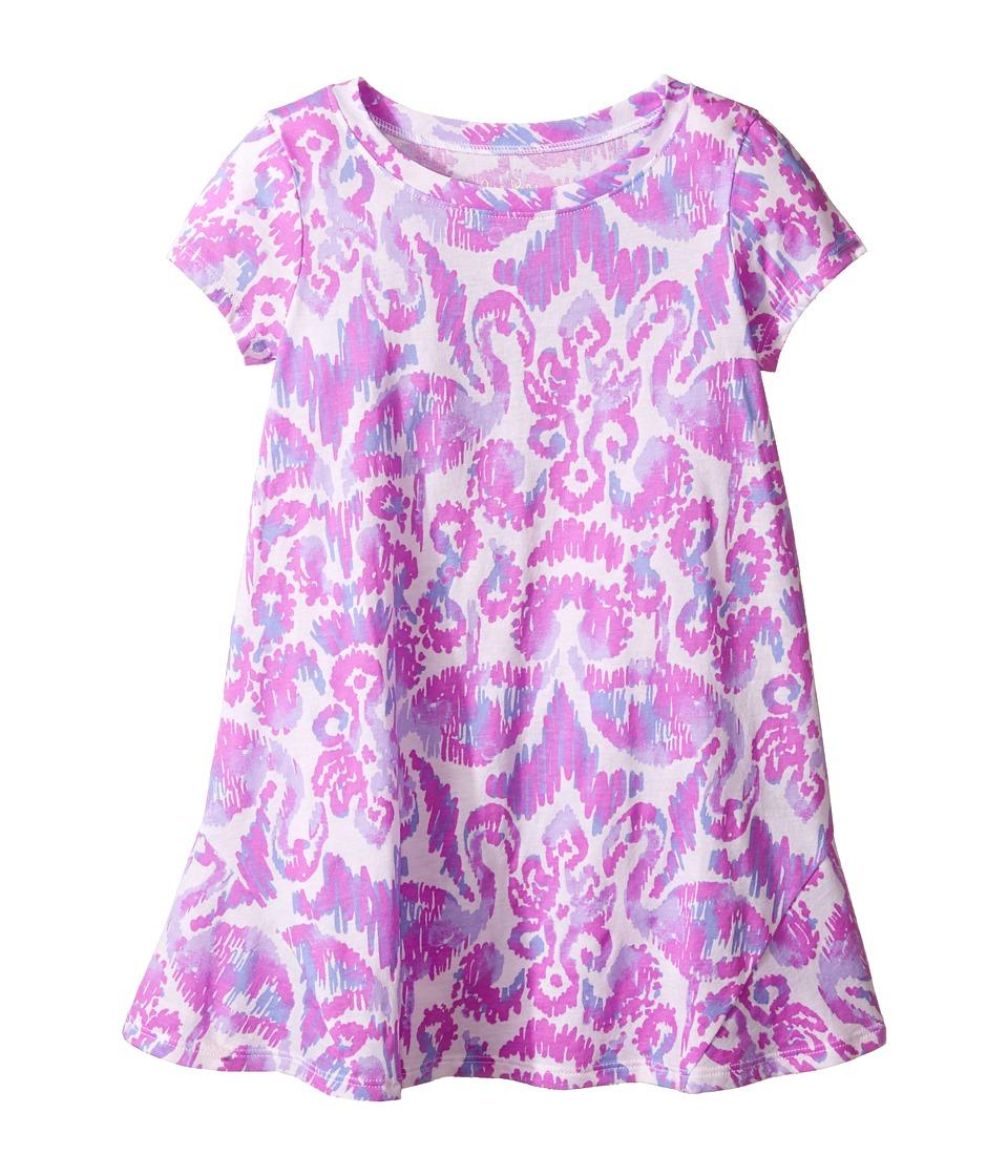 Lilly Pulitzer Kids Mara Dress (Toddler/Little Kids/Big Kids) (Amethyst Beach Bathers) Girl
