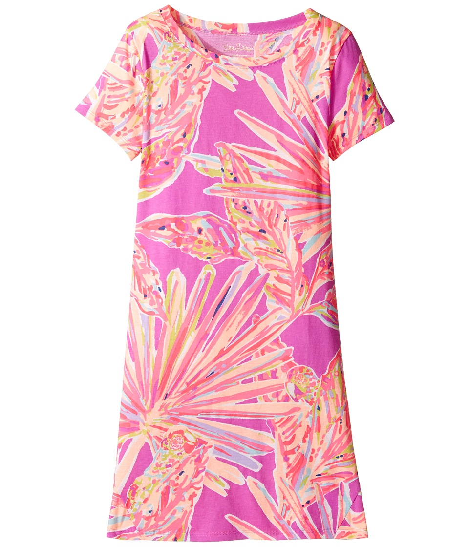 Lilly Pulitzer Kids Mara Dress (Toddler/Little Kids/Big Kids) (Amethyst Sunseekers Reduced) Girl