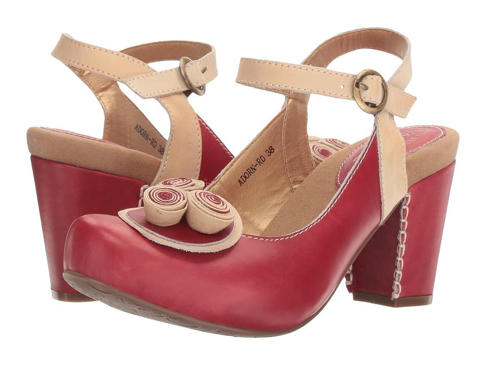 Spring Step Adorn (Red) Women
