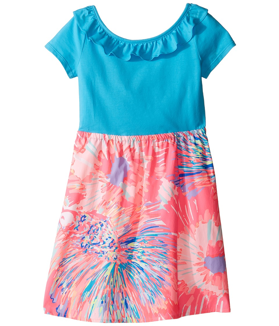 Lilly Pulitzer Kids Brit Dress (Toddler/Little Kids/Big Kids) (Multi Never Been Betta) Girl