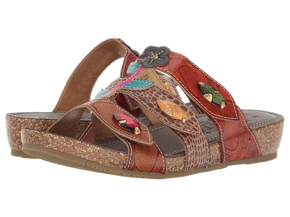 L'Artiste by Spring Step Aghna (Brown Multi) Women's Shoes