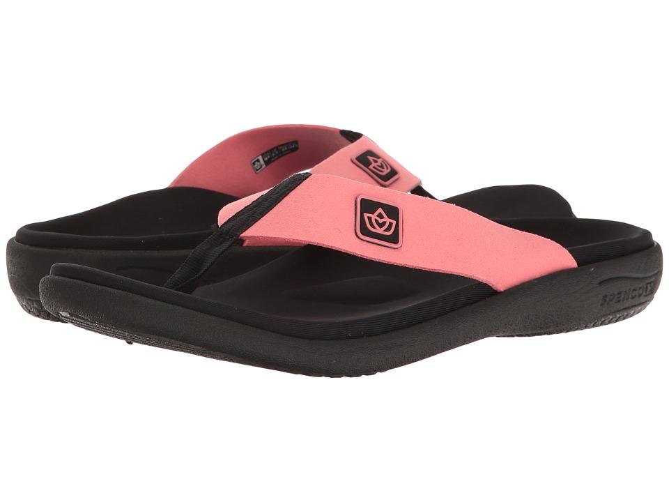 Spenco Pure Sandal (Salmon) Women