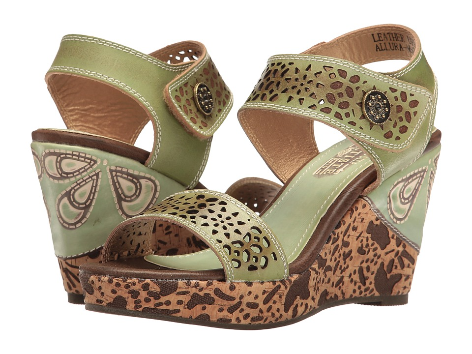 L'Artiste by Spring Step Allura (Mint Green) Women's Shoes