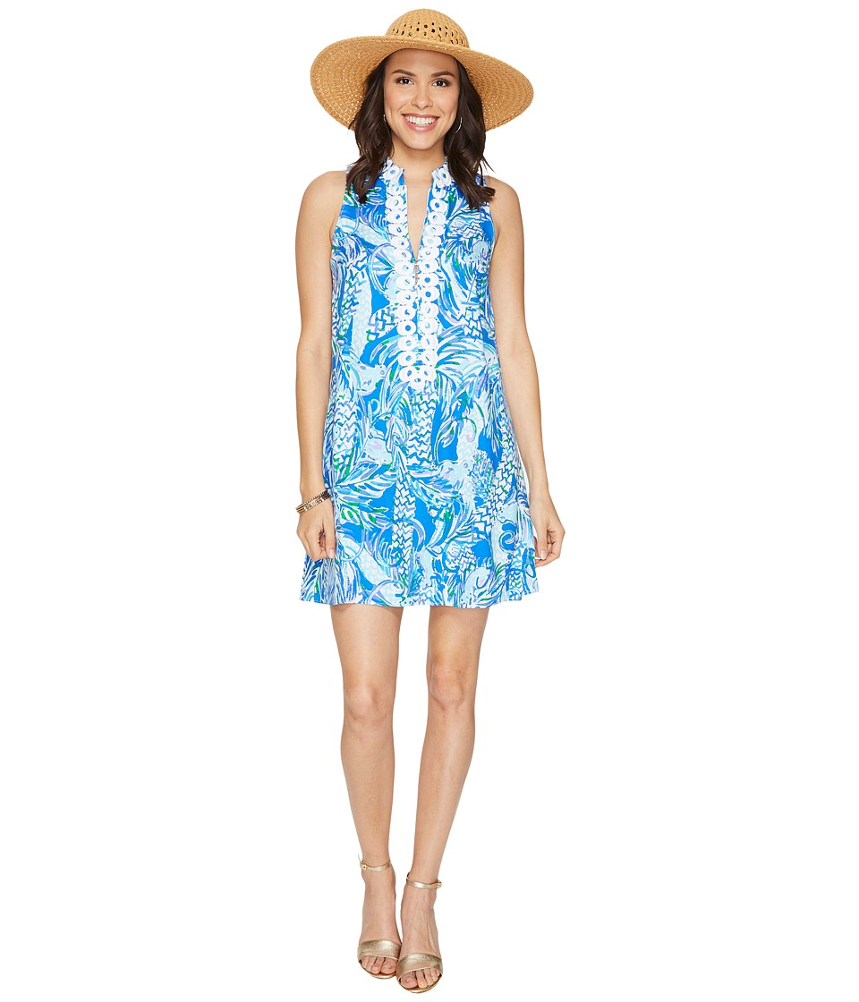 Lilly Pulitzer Jane Shift (Resort White Canopy Chaos) Women