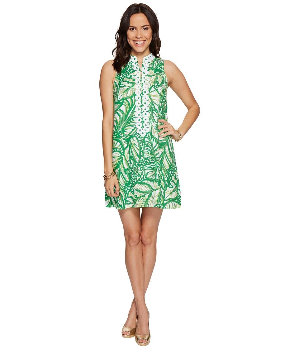 Lilly Pulitzer Jane Shift (Toucan Green Coco Loca) Women