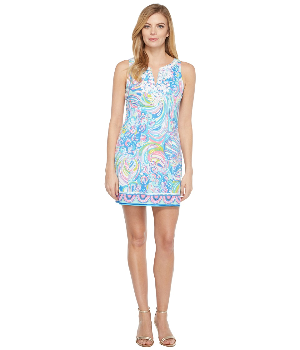 Lilly Pulitzer Gabby Shift (Multi Gillty Pleasure Engineered) Women