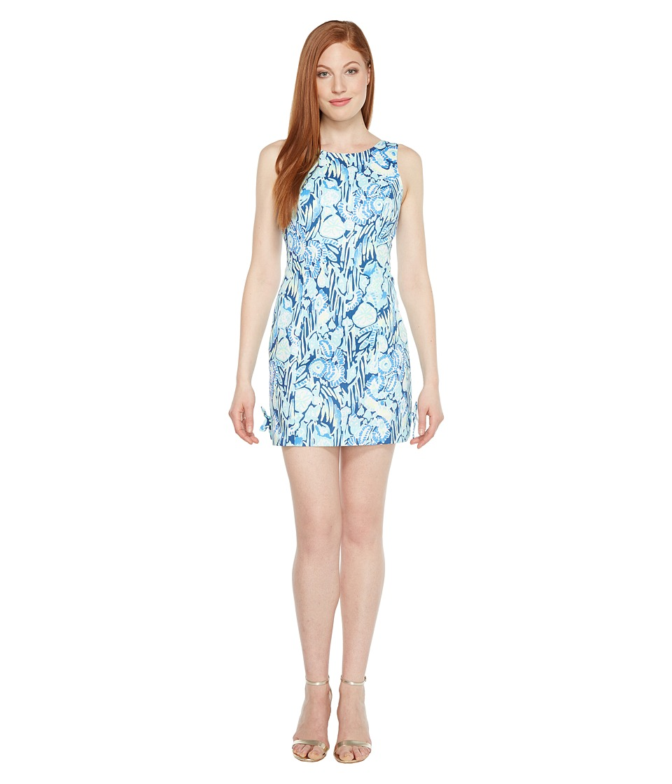 Lilly Pulitzer Mila Shift (Indigo Sunset Swim) Women's Dress