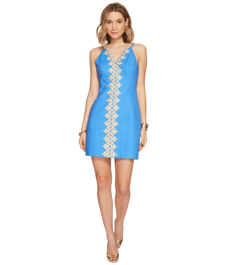 Lilly Pulitzer Pearl Shift (Lapis Blue) Women