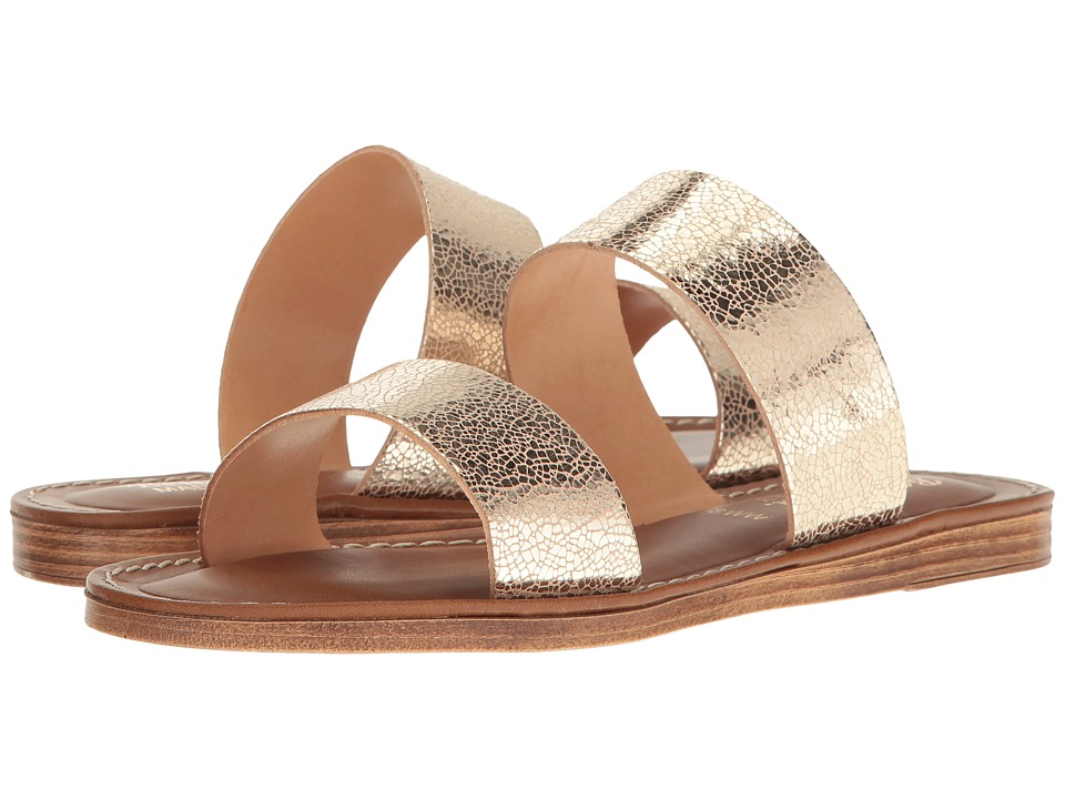 Bella-Vita - Imo-Italy (Cracked Gold Leather) Women's Sandals