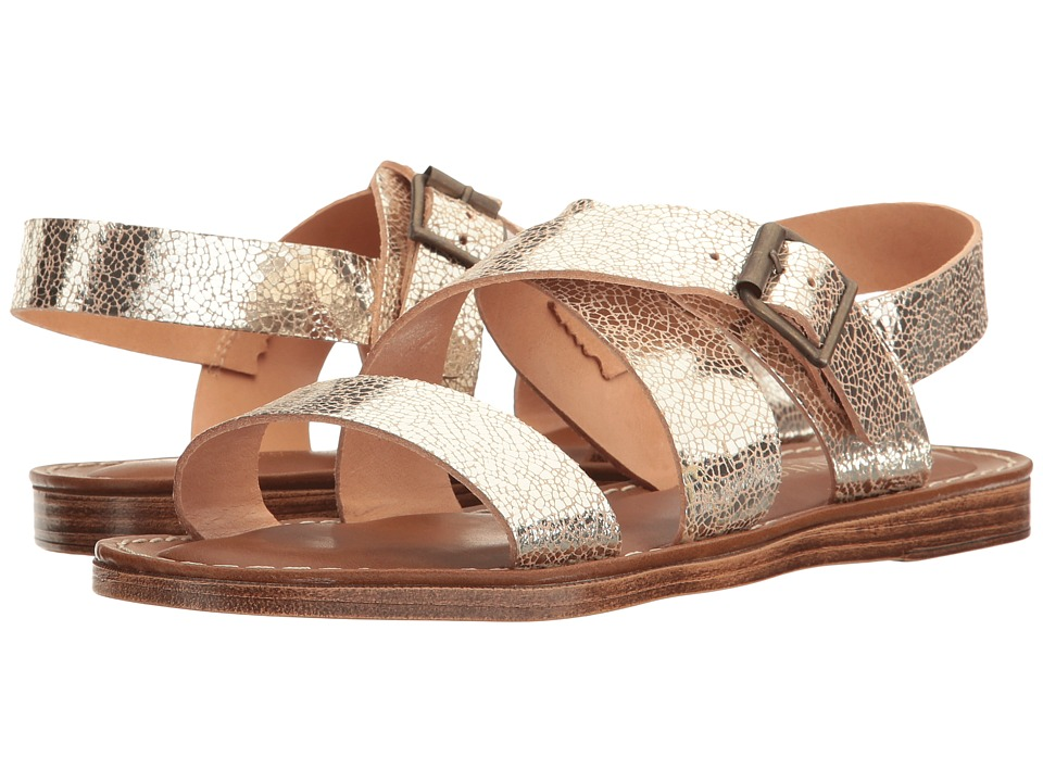Bella-Vita Nic-Italy (Cracked Gold Leather) Women