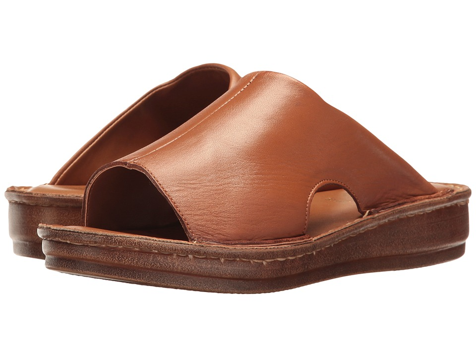 Bella-Vita - Mae-Italy (Tan Leather) Women's Sandals