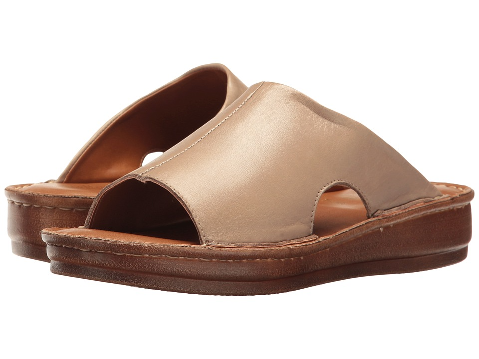 Bella-Vita Mae-Italy (Taupe Leather) Women