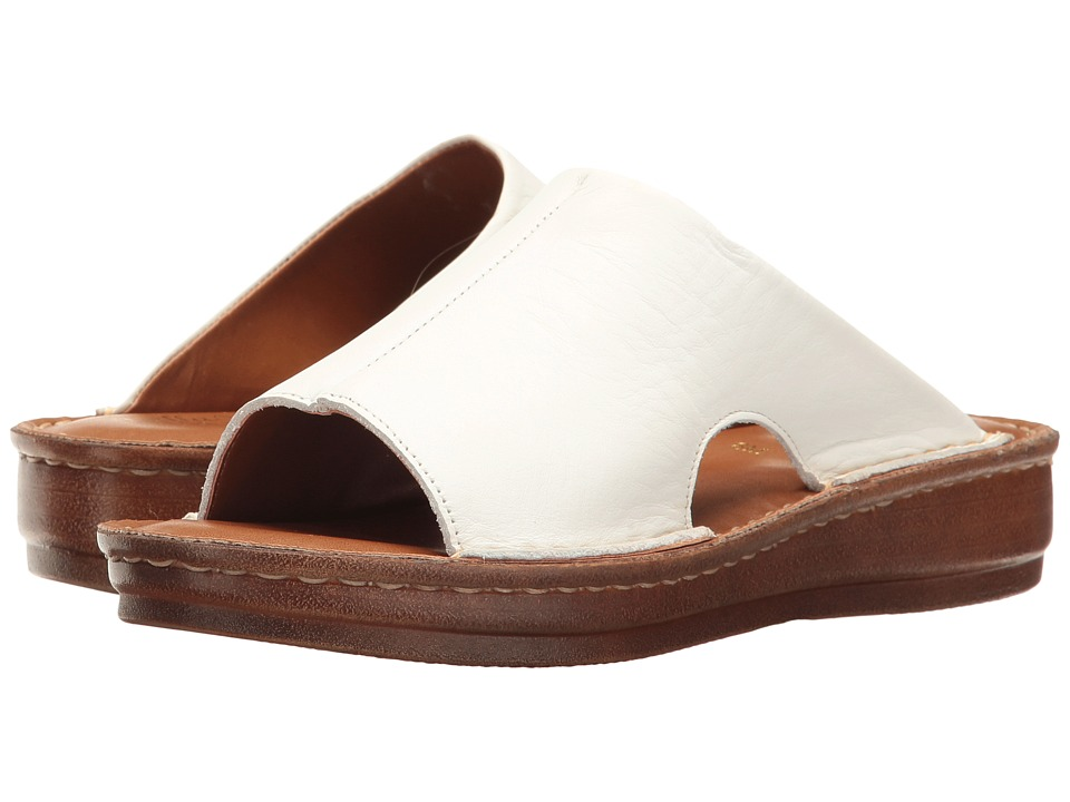 Bella-Vita Mae-Italy (White Leather) Women