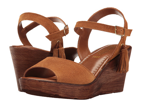 Bella-Vita Ali-Italy - Tobacco Suede Leather