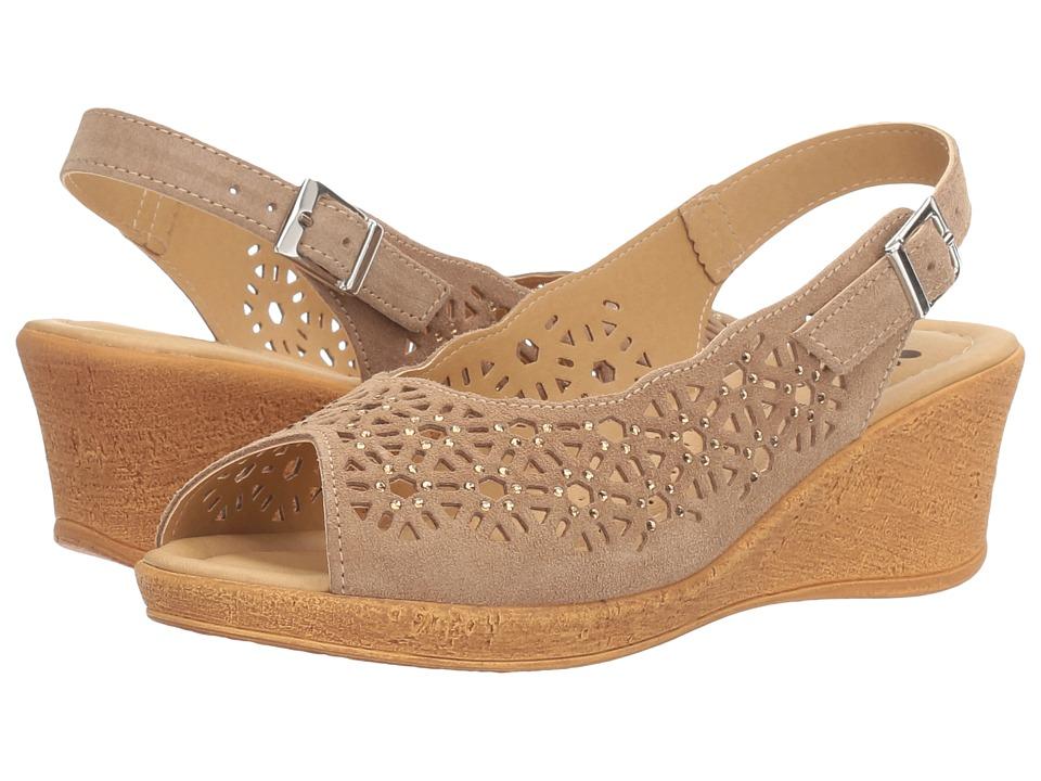 Spring Step Saibara (Beige) Women's Shoes
