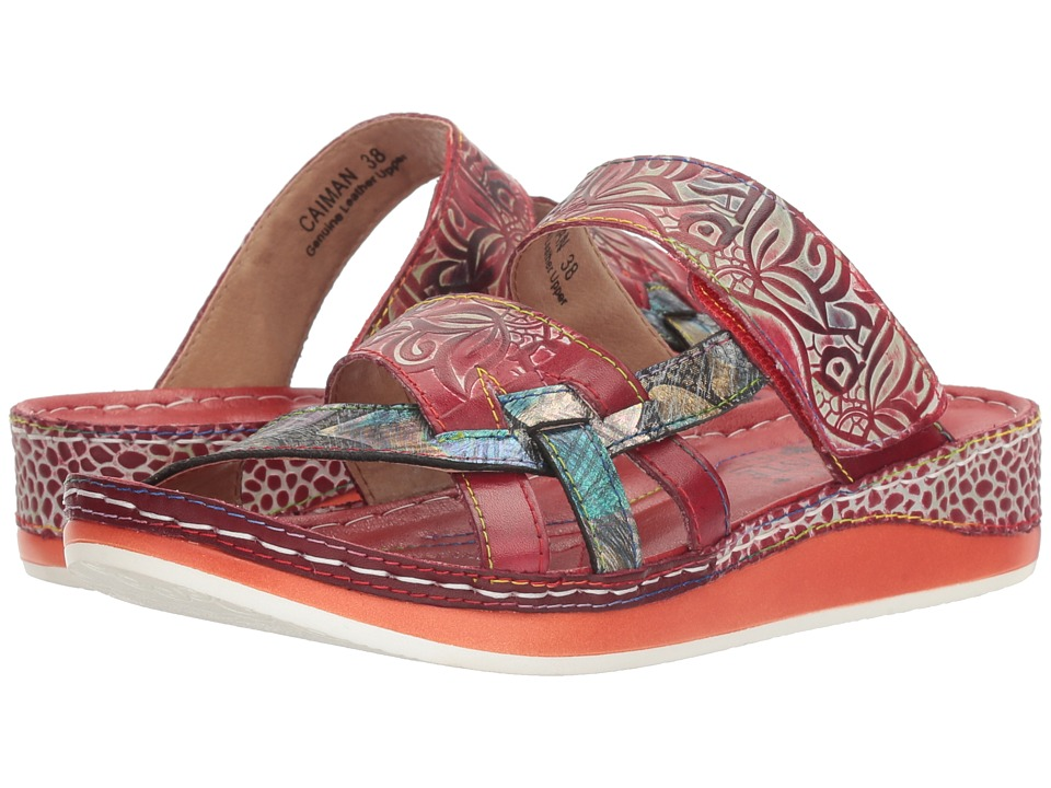 L'Artiste by Spring Step Caiman (Red Multi) Women's Shoes