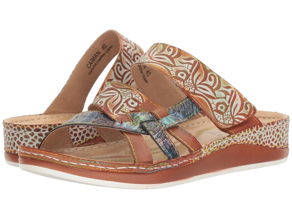 L'Artiste by Spring Step Caiman (Camel) Women's Shoes
