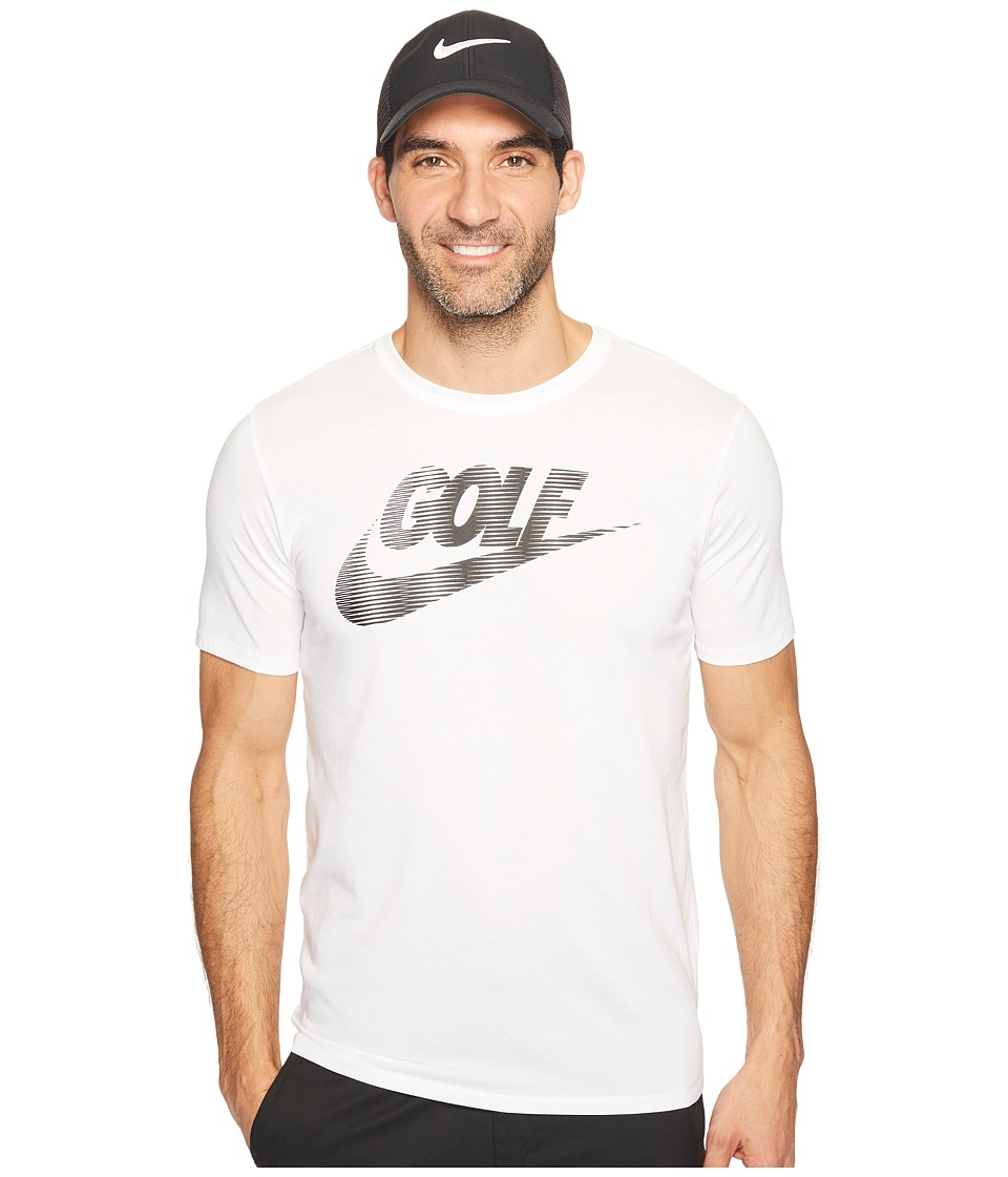 Nike Golf Seasonal Tee (White/Black) Men