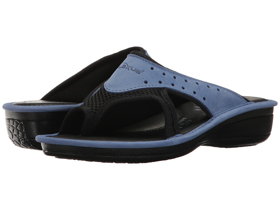 Spring Step - Pascalle (Blue) Women's Sandals