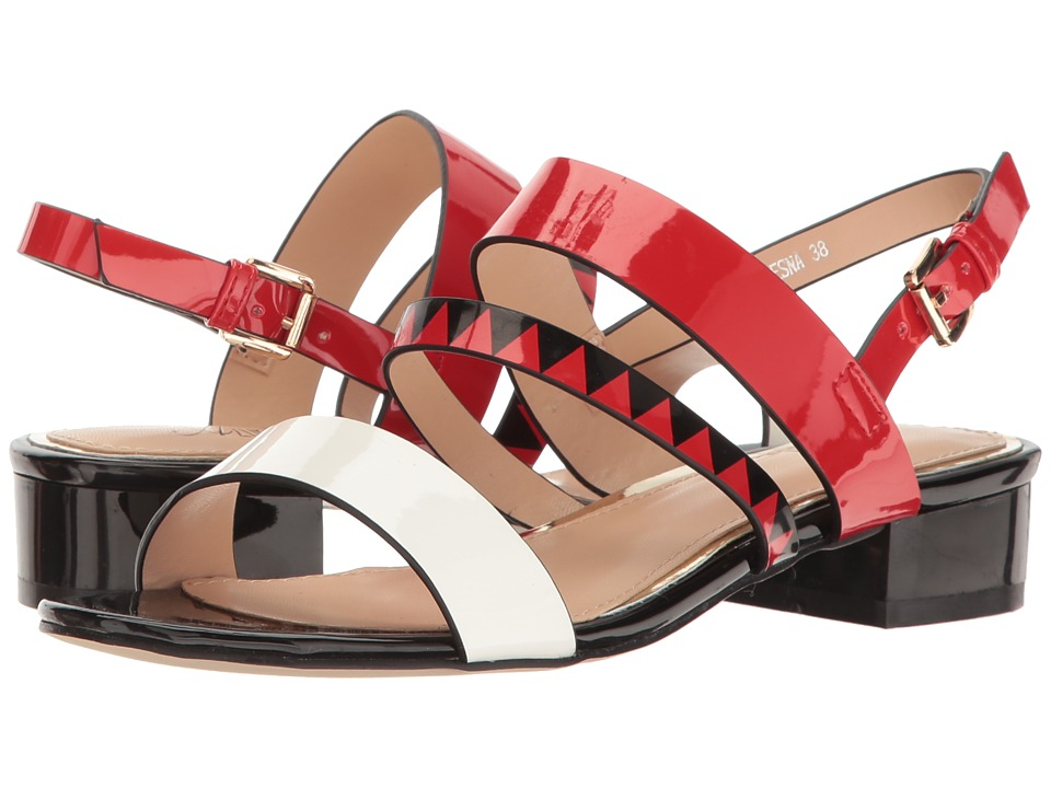 Spring Step Tresna (Red Multi) Women's Shoes