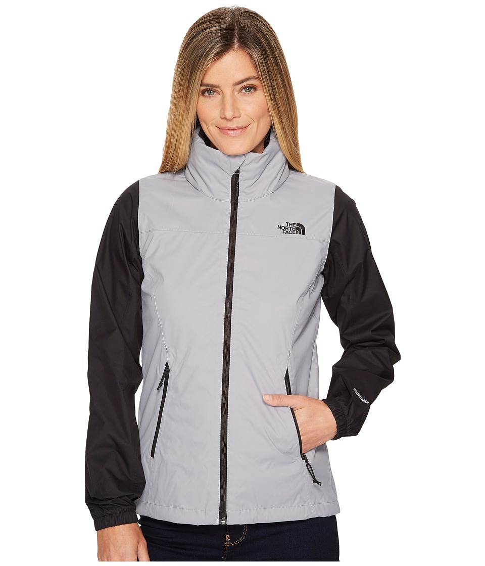 The North Face - Resolve Plus Jacket (Mid Grey/TNF Black) Womens Coat