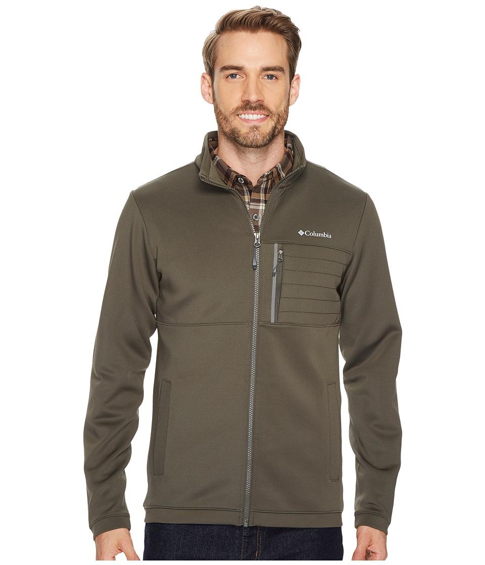 Columbia Front Range Full Zip Jacket (Alpine Tundra/Shark TPU) Men