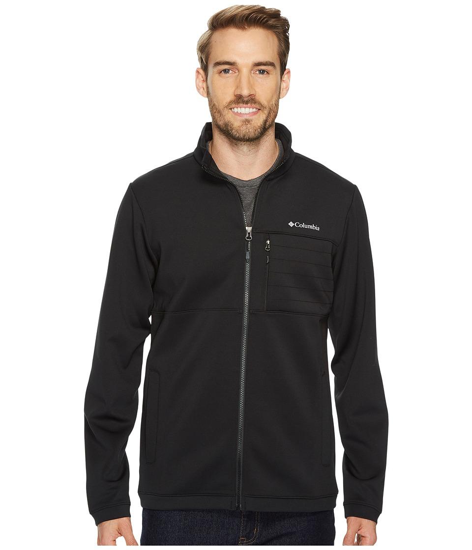 Columbia Front Range Full Zip Jacket (Black/Black TPU) Men