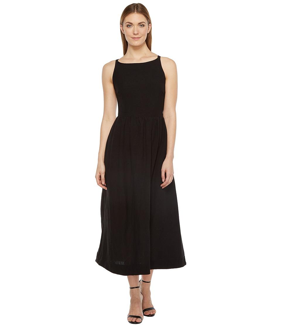 Rachel Pally Linen Greysun Dress (Black) Women