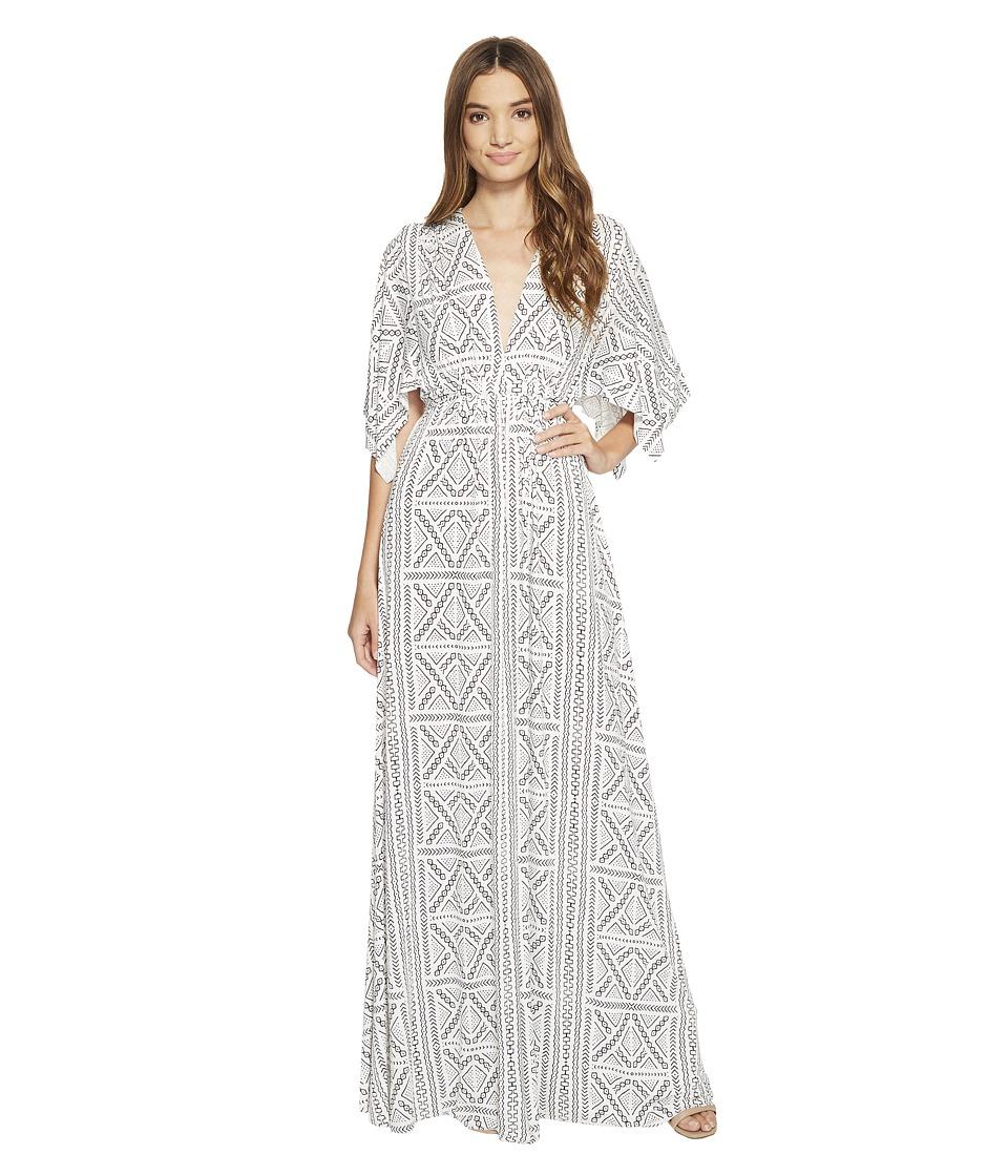 Rachel Pally Long Caftan Dress Print (Kinship Print) Women
