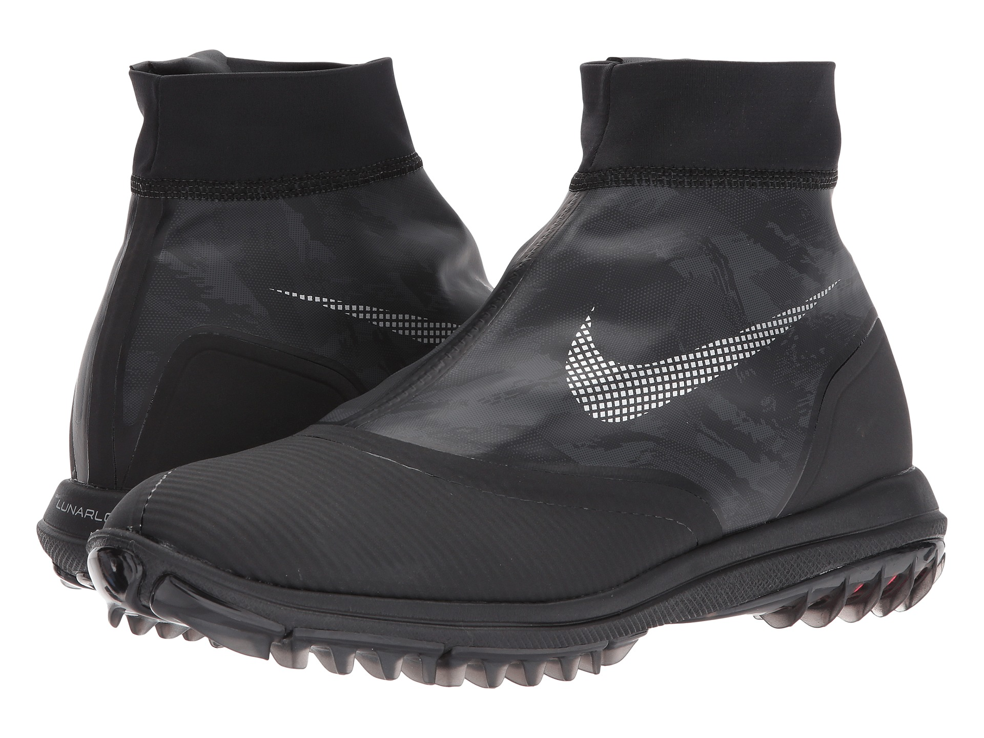 Nike Golf Shoes Zippper