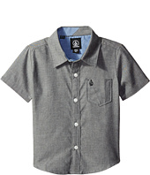 Volcom Kids - Everett Oxford Short Sleeve Shirt (Toddler/Little Kids)