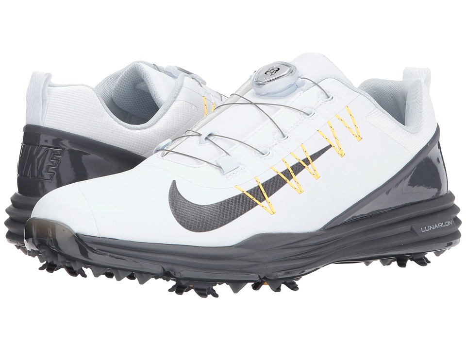 Nike Lunar Command Golf Shoes Dark Grey Volt