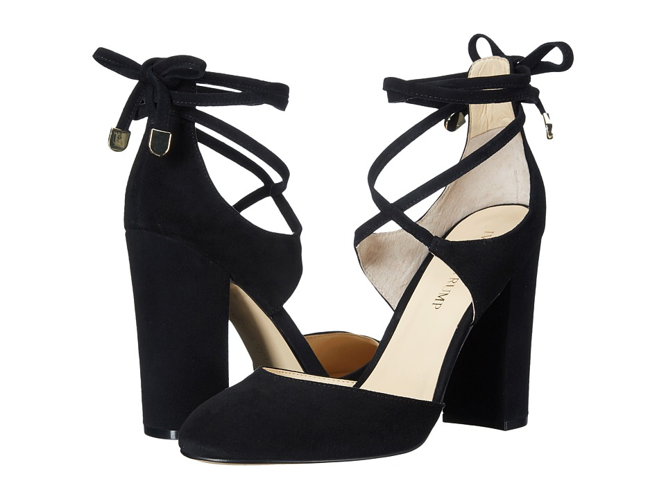 Ivanka Trump Graffi (Black Suede) High Heels