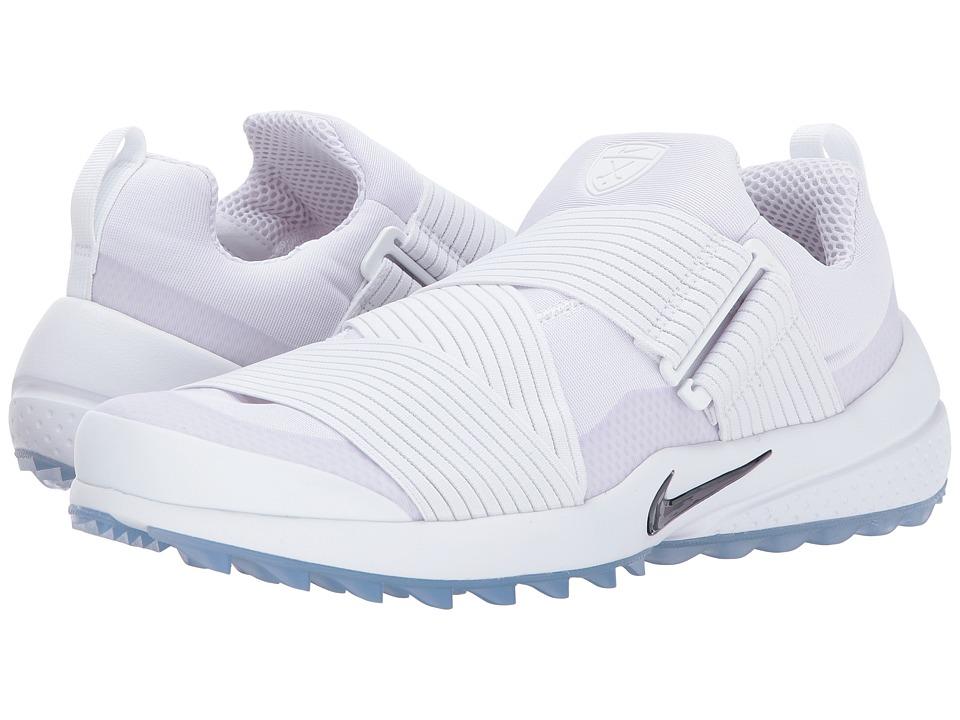 Nike Golf Air Zoom Gimmie (White/White/White) Men