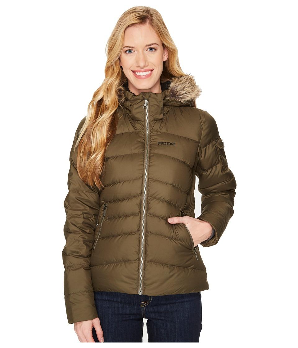 Marmot - Ithaca Jacket (Deep Olive) Womens Coat