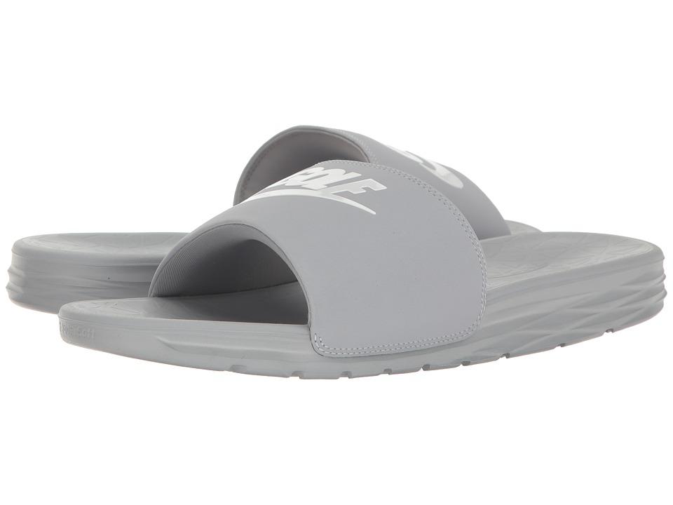 Nike Golf - Benassi Solarsoft 2 G (Wolf Grey/White) Golf ...