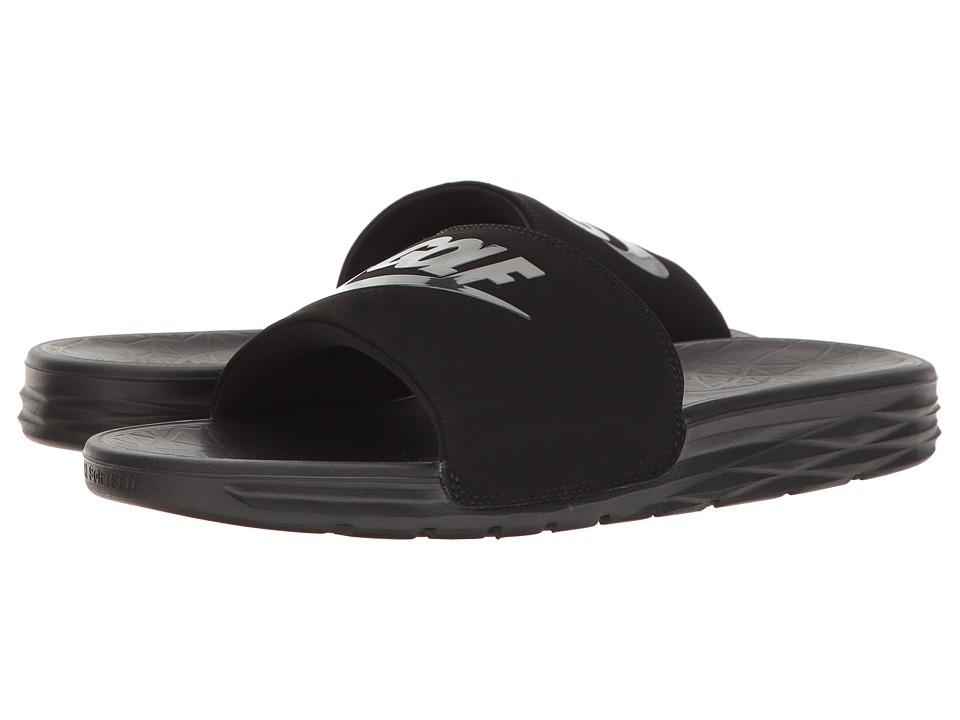 Nike Golf - Benassi Solarsoft 2 G (Black/Anthracite) Golf...