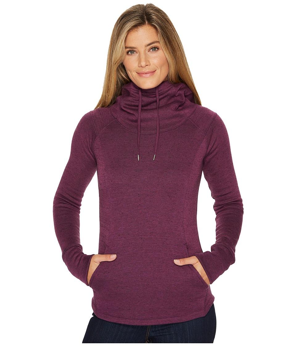 Marmot - Tashi Hoodie (Deep Plum Heather) Womens Sweatshirt