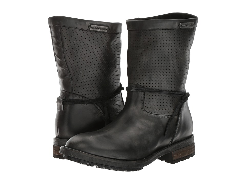 Harley Davidson Sicilia (Black) Women's Pull-on Boots