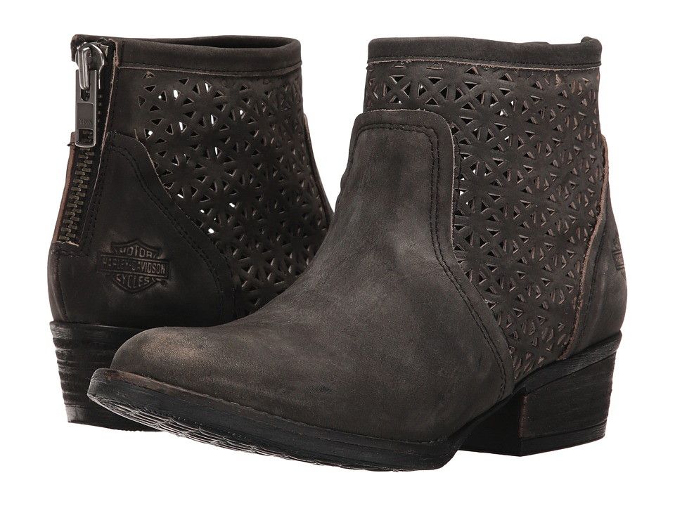 Harley-Davidson Liam (Smoke) Women's Pull-on Boots